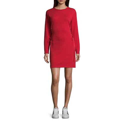 Project Runway Corset Sweatshirt Dress