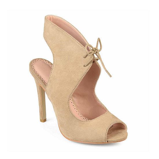 Journee Collection Womens Indigo Pumps Stiletto Heel