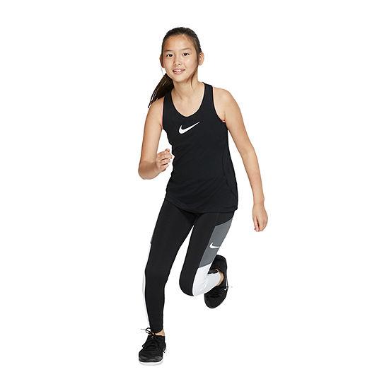 Nike Big Girls Plus Full Length Leggings