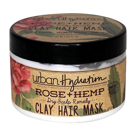 Urban Hydration Rose Hemp Conditioning Hair Mask-8.4 oz.