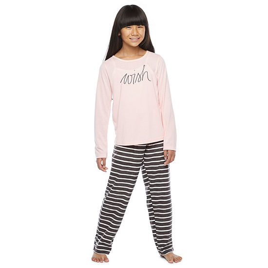 North Pole Trading Co. It's Cold Outside Little & Big Girls Christmas Pajama Set 2-pc.