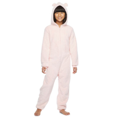 North Pole Trading Co. It's Cold Outside Little & Big Unisex Fleece Long Sleeve One Piece Pajama