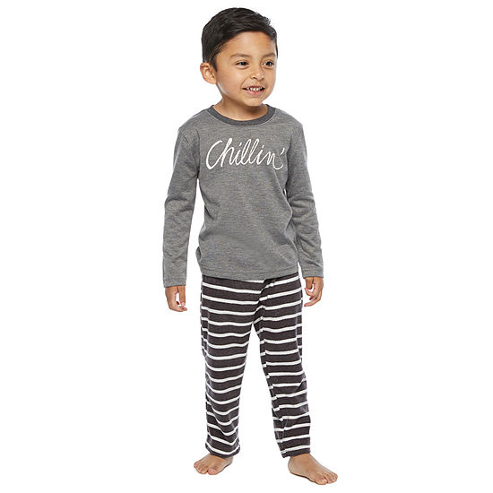 North Pole Trading Co. It's Cold Outside Toddler Boys 2-pc. Christmas Pajama Set