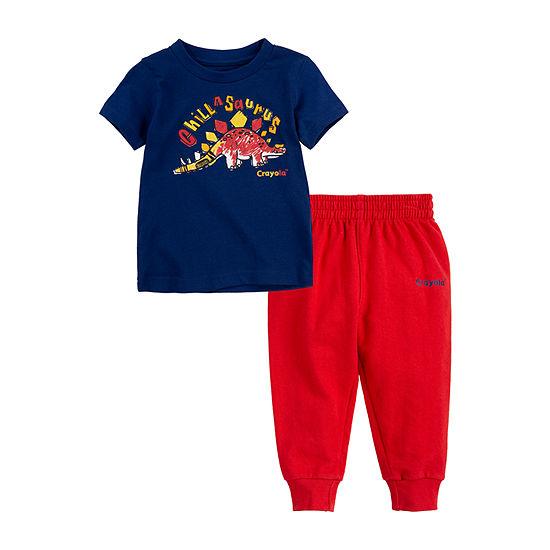 Crayola Baby Boys 2-pc. Pant Set