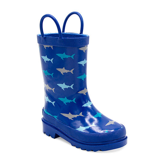 London Fog Toddler Unisex Chard Rain Flat Heel Boots