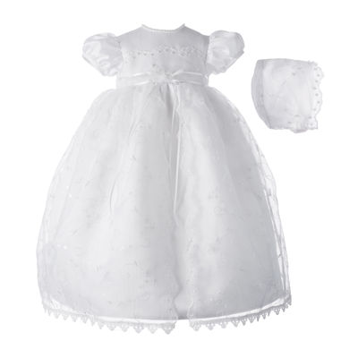 Keepsake® Christening Dress and Hat - Girls newborn-9m