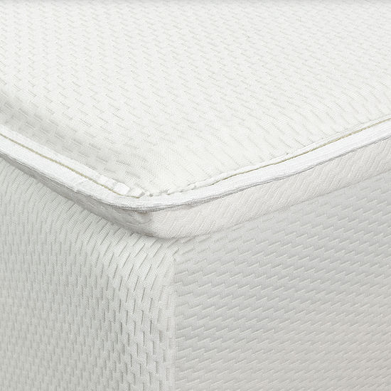 "Eclipse 2"" Dunlop Latex Mattress Topper with Memory Foam Comfort Layer"