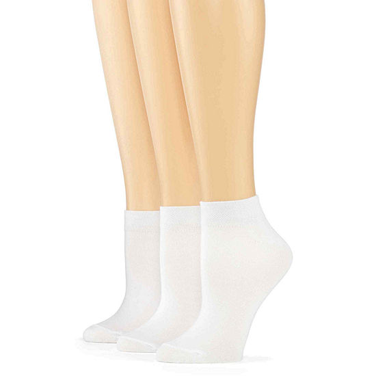 Mixit 3 Pack Low-Cut Socks- Womens