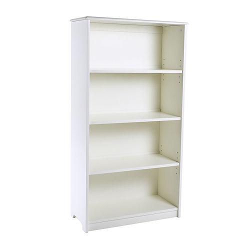 """Guidecraft 48"""" Bookshelf - White"""