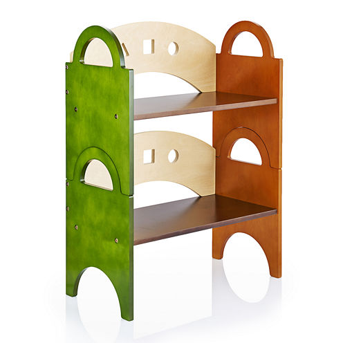 Guidecraft See and Store Stacking Bookshelf