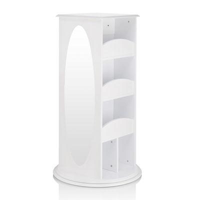 Guidecraft Rotating Dress-Up Storage - White