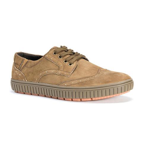 MUK LUKS® Parker Mens Leather Lace-Up Shoes