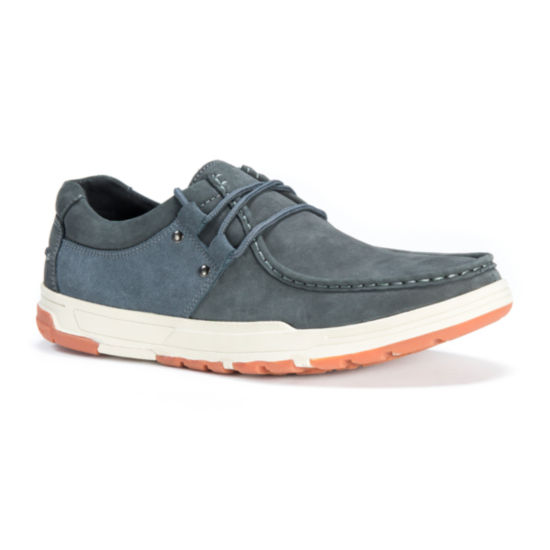 Muk Luks Mens Boat Shoes Lace-up