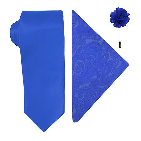JF J.Ferrar Tie, One Size , Blue