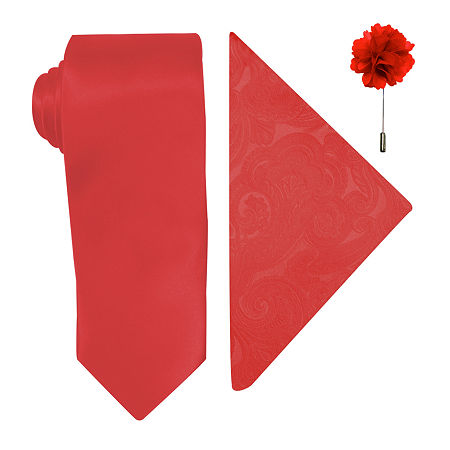 JF J.Ferrar Tie, One Size , Red