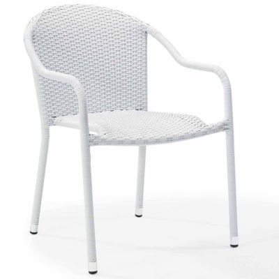 Crosley Palm Harbor Wicker Patio Dining Chair