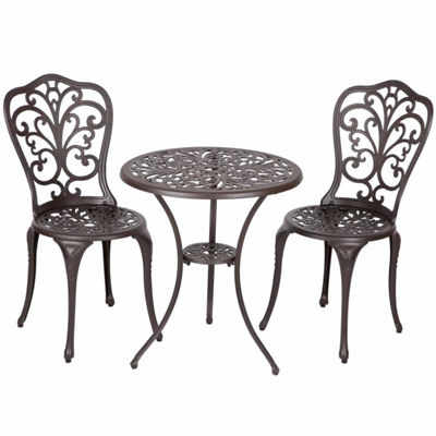 Patio Sense 3-pc. Bistro Set