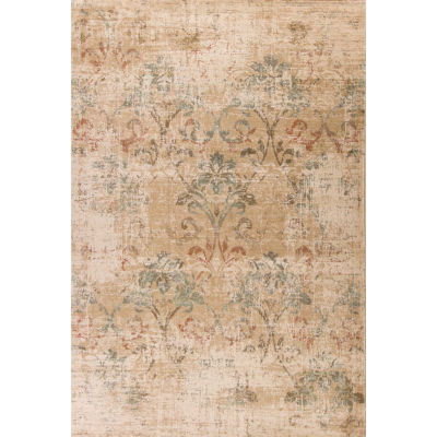 Damask Rectangular Rug