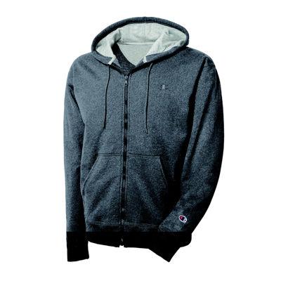 Champion® Powerblend Fleece Full-Zip Hoodie