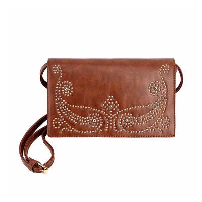 Olivia Miller Vania Western Studded Flap Crossbody Bag