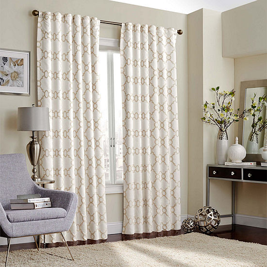 Eclipse® Correll Rod-Pocket Curtain Panel