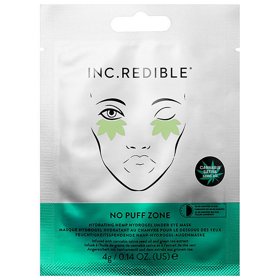 INC.redible No Puff Zone Hydrating Hemp Hydrogel Under Eye Mask