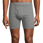 Stafford 4+1 Bonus Pair Dry+Cool Blended Boxer Briefs
