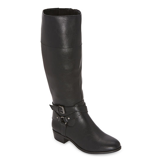 a.n.a Womens Torrance Riding Boots Block Heel
