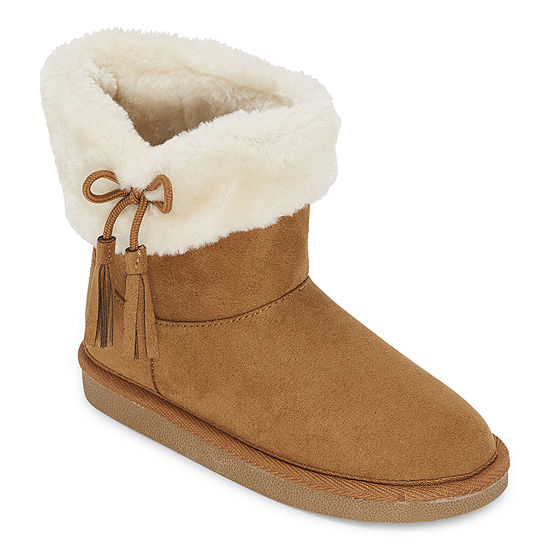 Okie Dokie Toddler Girls Lil Asbury Flat Heel Winter Boots