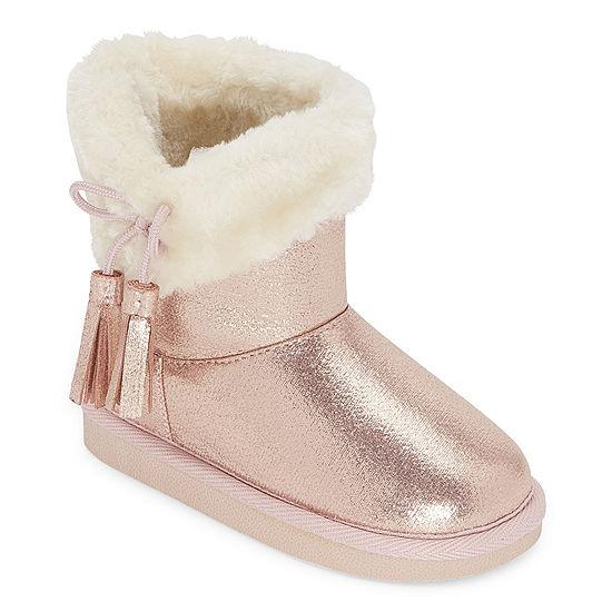 Okie Dokie Toddler Girls Lil Asbury Flat Heel Winter Boots