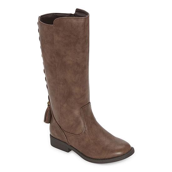 Sugar Little Kid/Big Kid Girls Brooke Flat Heel Riding Boots