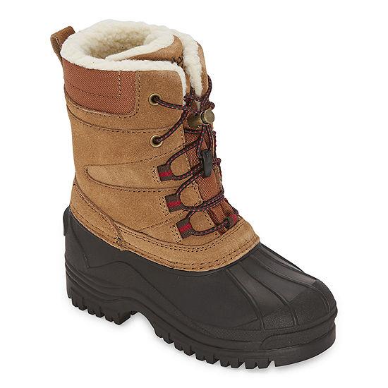 Totes Little Kid/Big Kid Boys Flat Heel Winter Boots