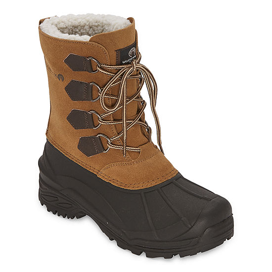 Weatherproof Mens Century Ii Insulated Winter Flat Heel Boots
