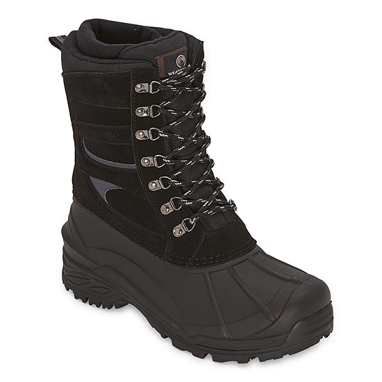 Weatherproof Mens Monte Ii Insulated Winter Flat Heel Boots