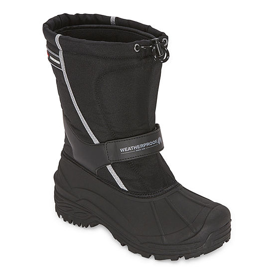 Weatherproof Mens Snowbank Ii Insulated Winter Flat Heel Boots