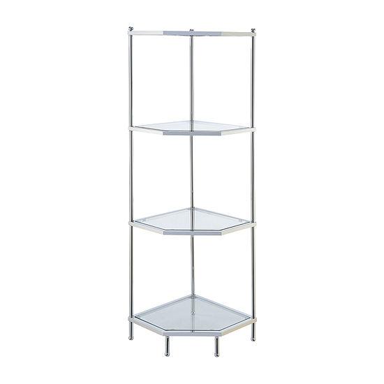 Royal Crest 4-Tier Corner Shelf