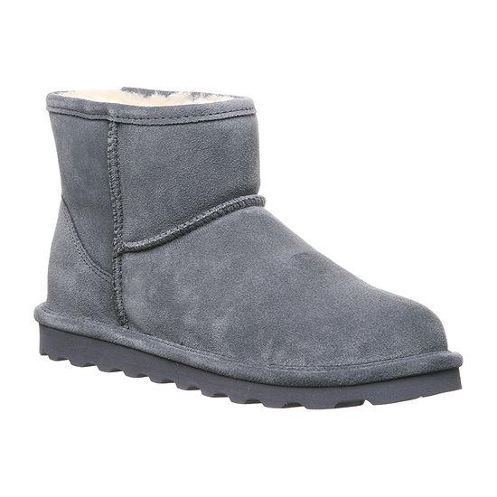 Bearpaw Womens Alyssa Winter Boots Flat Heel
