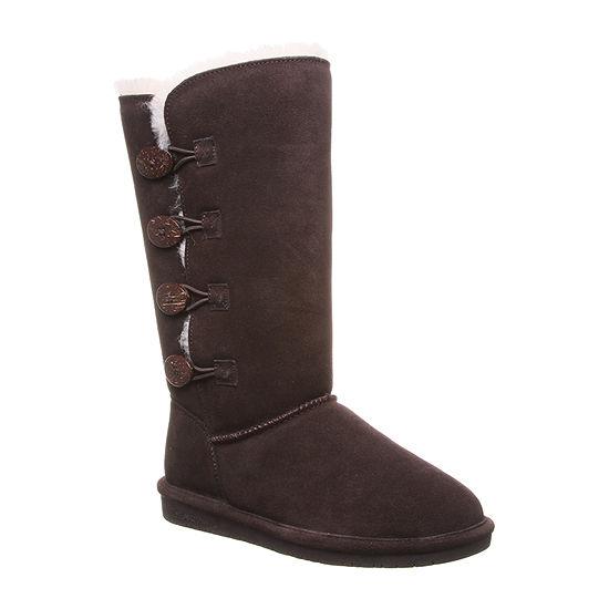 Bearpaw Womens Lori Flat Heel Winter Boots