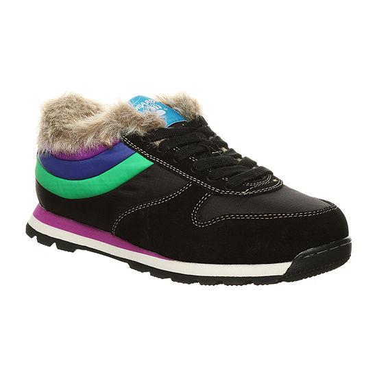 Bearpaw Womens Hoodoo Winter Boots Flat Heel