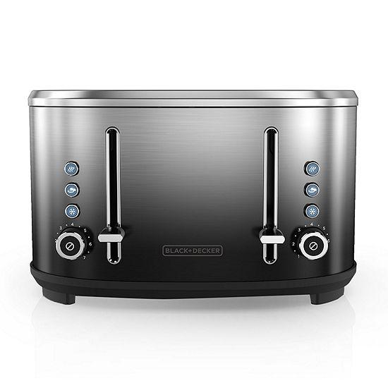 Black+Decker Extra-Wide Slot 4-Slice Toaster