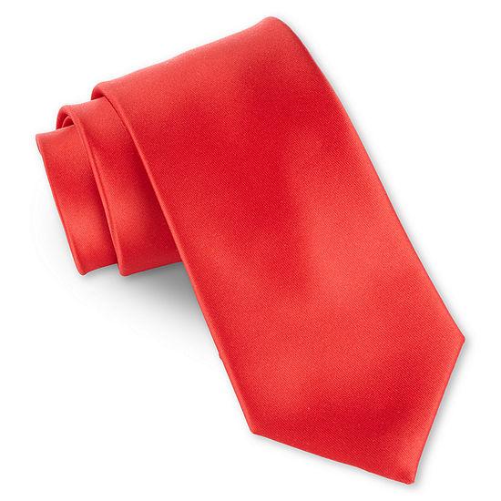 Van Heusen Howe Red Tie-Boys