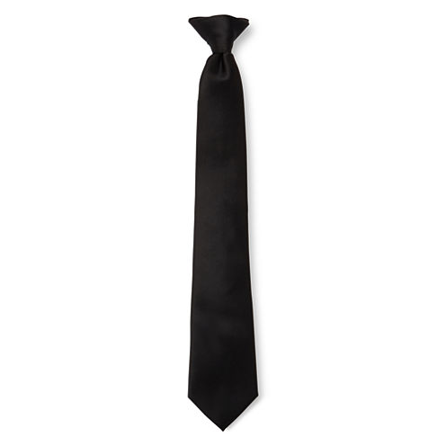 IZOD® Howe Clip-On Tie - Boys