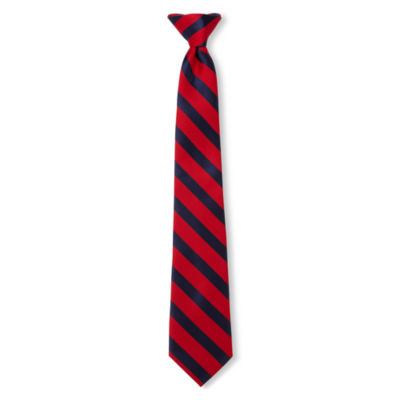 Van Heusen Abel Striped Clip-On Tie - Boys