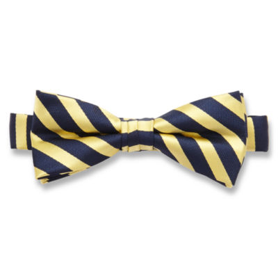 IZOD® Gordie Striped Bow Tie - Boys