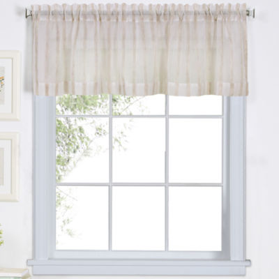 Elrene Rod-Pocket Kitchen Valance