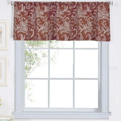 Flora Rod-Pocket Valance