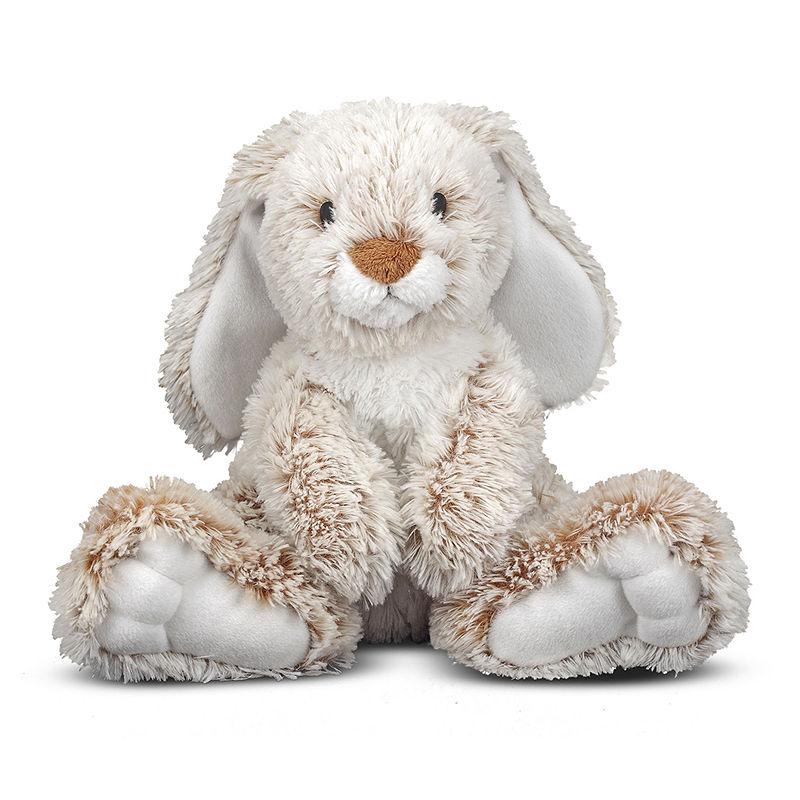 Melissa & Doug Burrow Bunny Plush, Unisex, Multi-colored, One Size