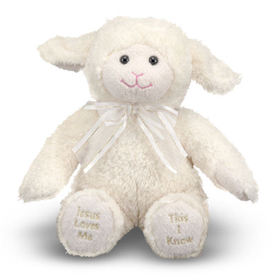 Melissa & Doug® Jesus Loves Me Lamb