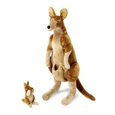 Melissa & Doug® Kangaroo & Joey - Plush