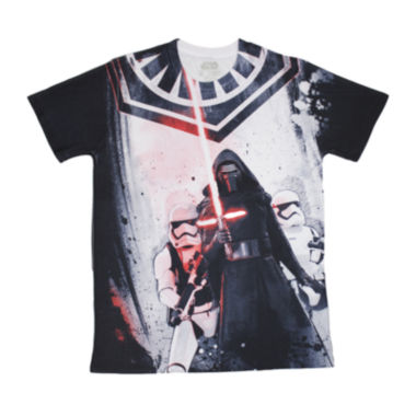 Short Sleeve Star Wars Tv + Movies Standing There  Graphic T-Shirt
